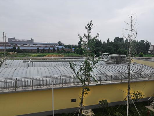 污水处理厂加盖除臭项目